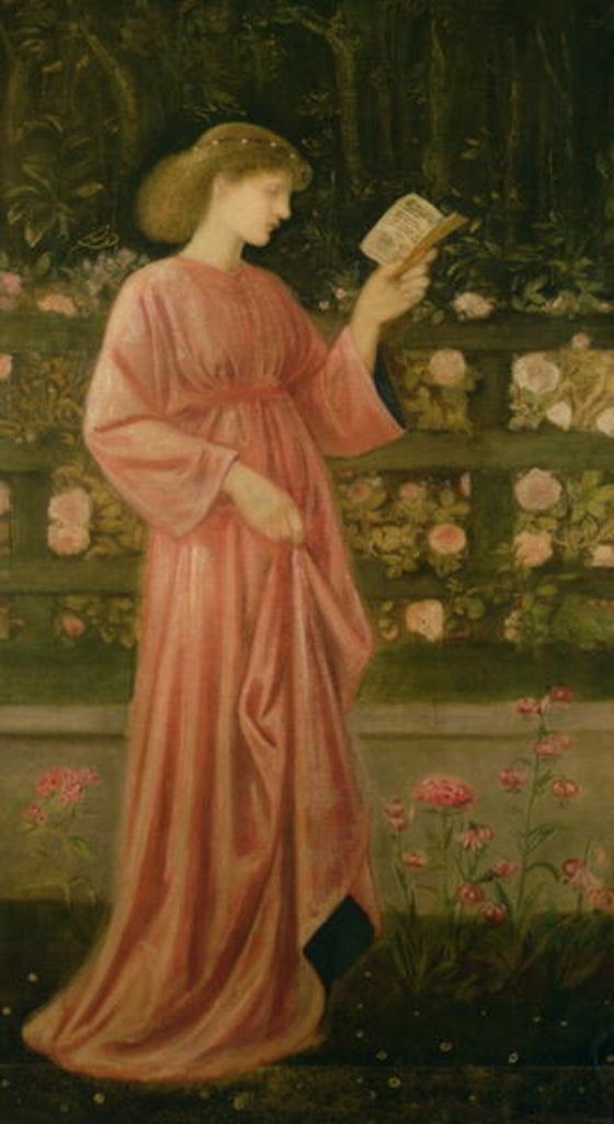 Detail of Princess Sabra by Sir Edward Coley Burne-Jones