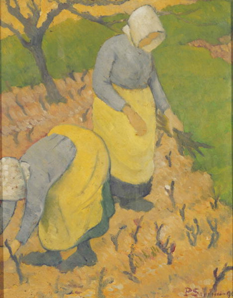 Detail of Women in the Vineyard by Paul Serusier