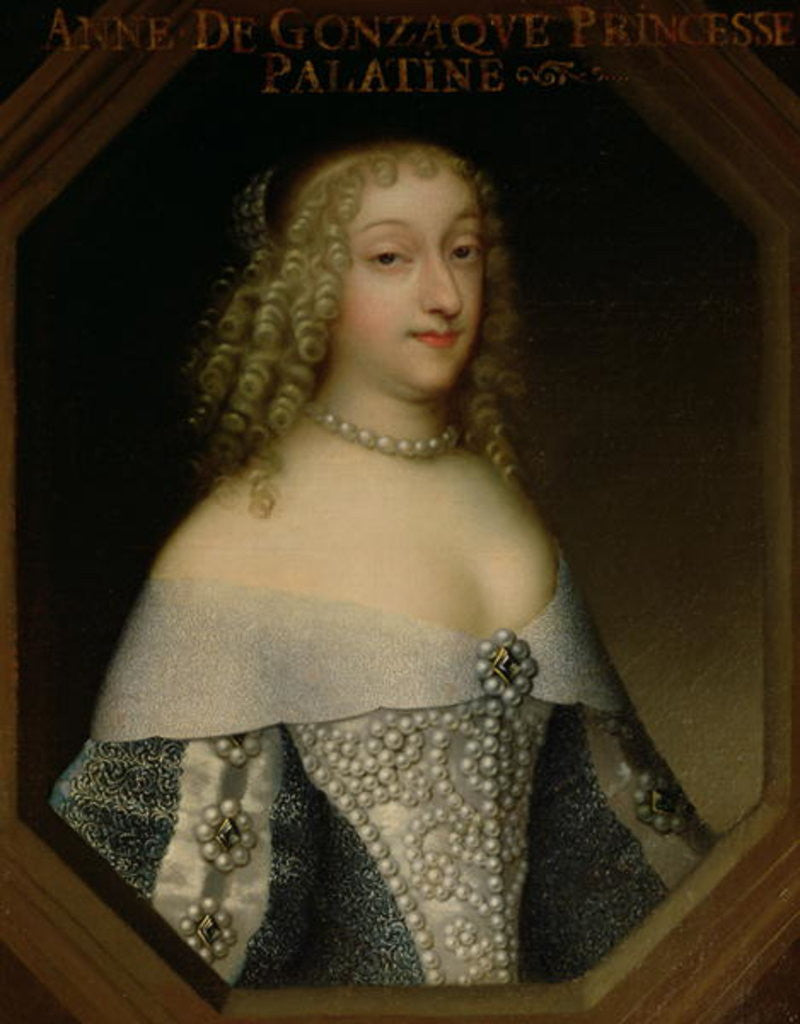 Anne de Gonzaga Princess Palatine by French School
