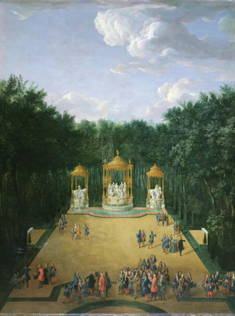 The Groves of the Baths of Apollo in the Gardens of Versailles