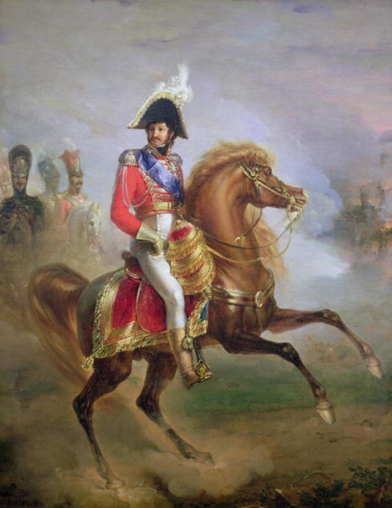 Detail of Joachim Murat on Horseback by Joseph Franque