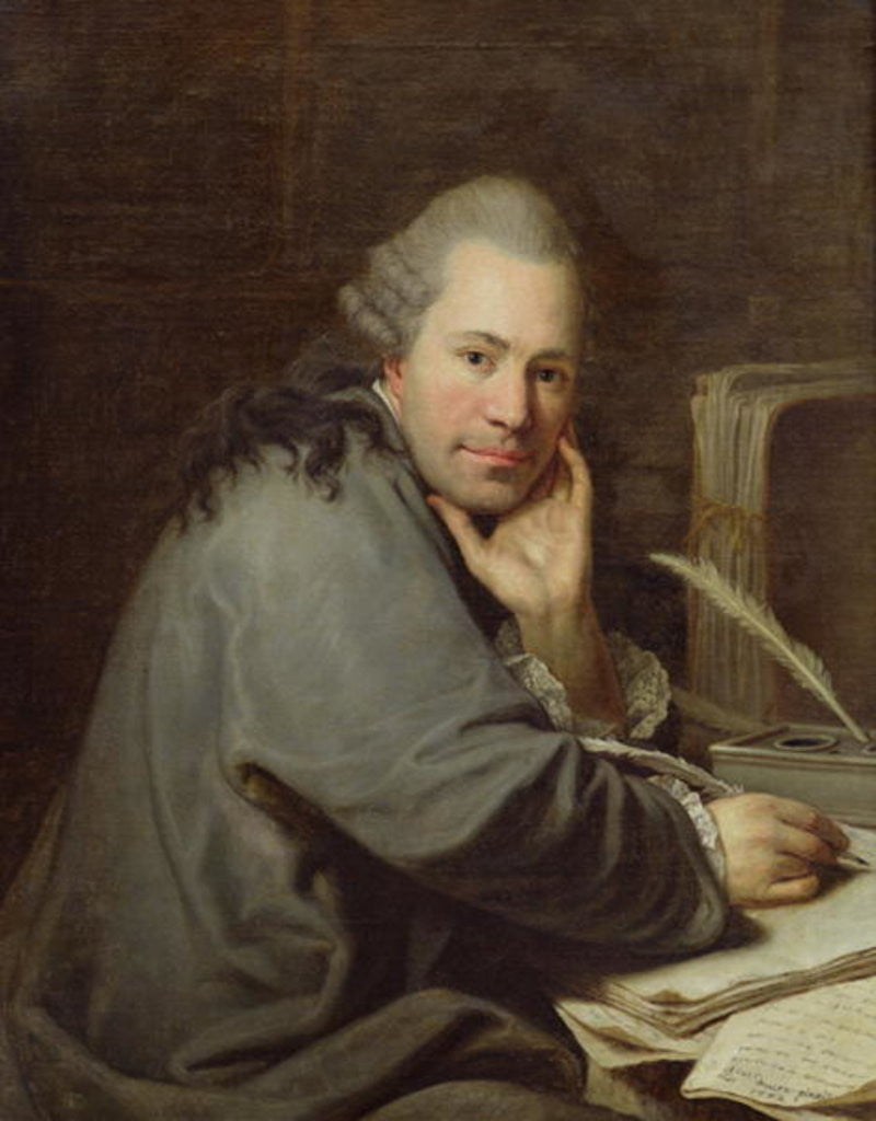 Detail of Portrait of a Writer by Dominique Doncre