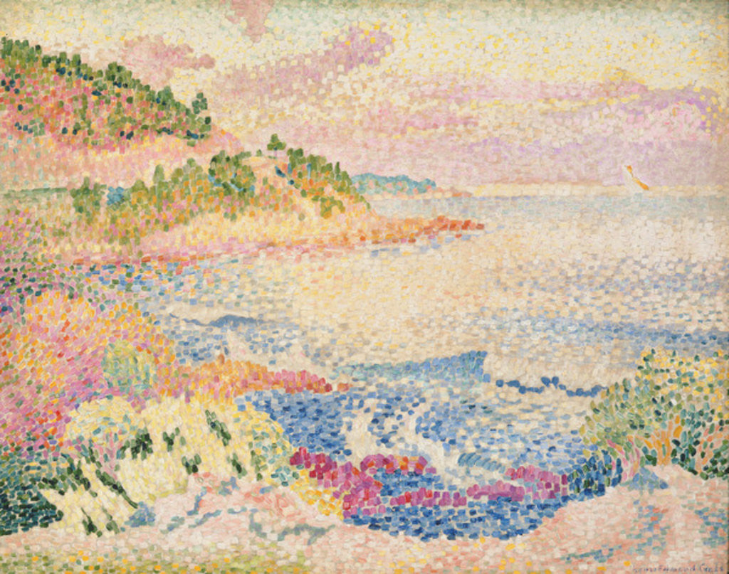 Detail of The Maures by Henri-Edmond Cross