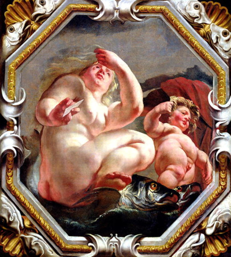Detail of Pisces by Jacob Jordaens