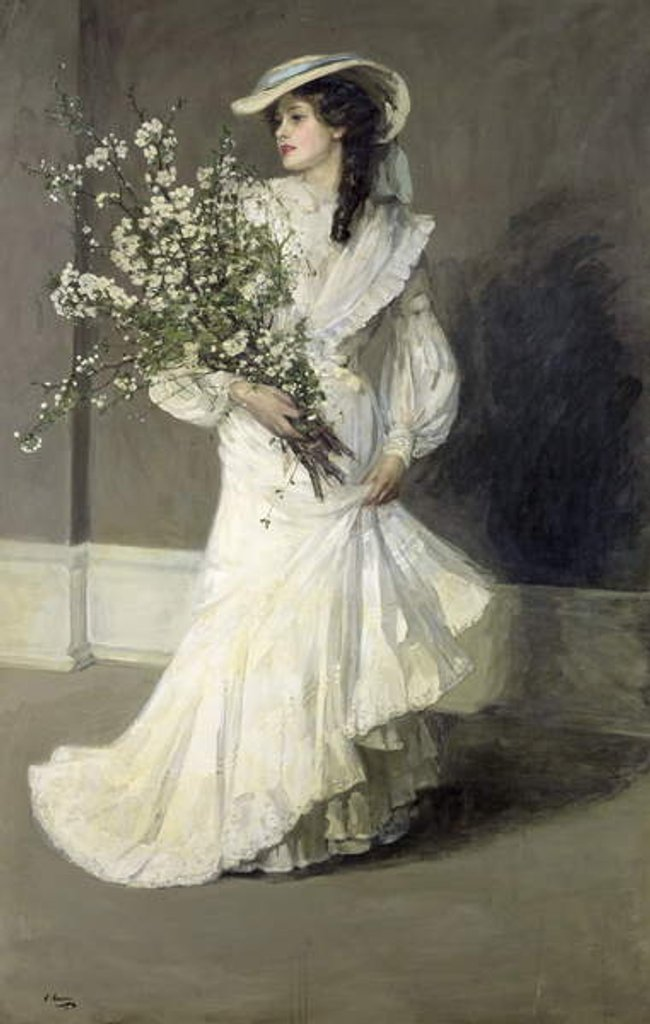 Detail of Spring by John Lavery