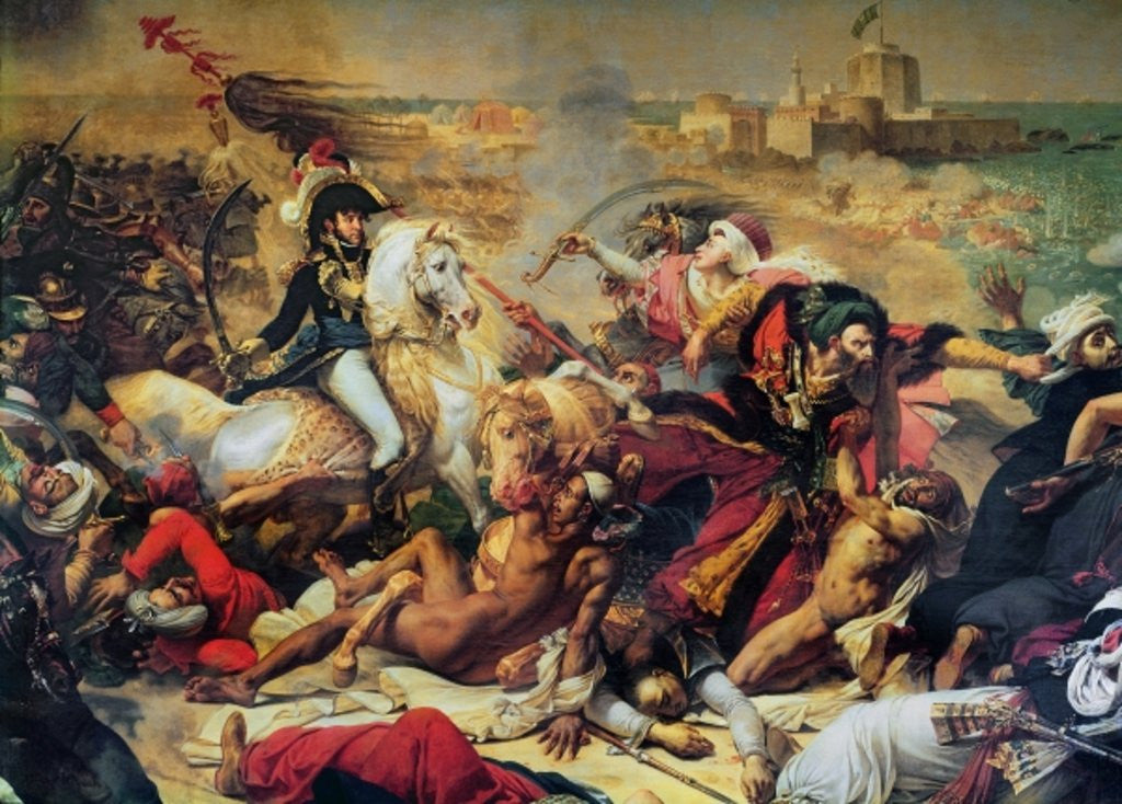 Detail of The Battle of Aboukir by Baron Antoine Jean Gros