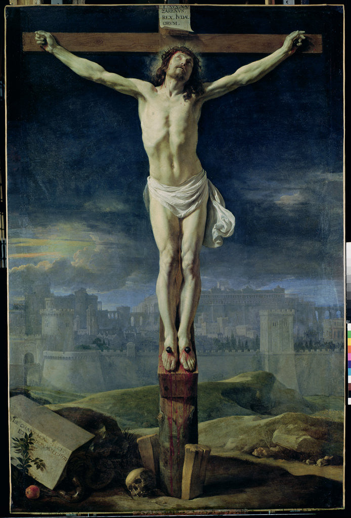 Detail of Christ on the Cross by Philippe de Champaigne