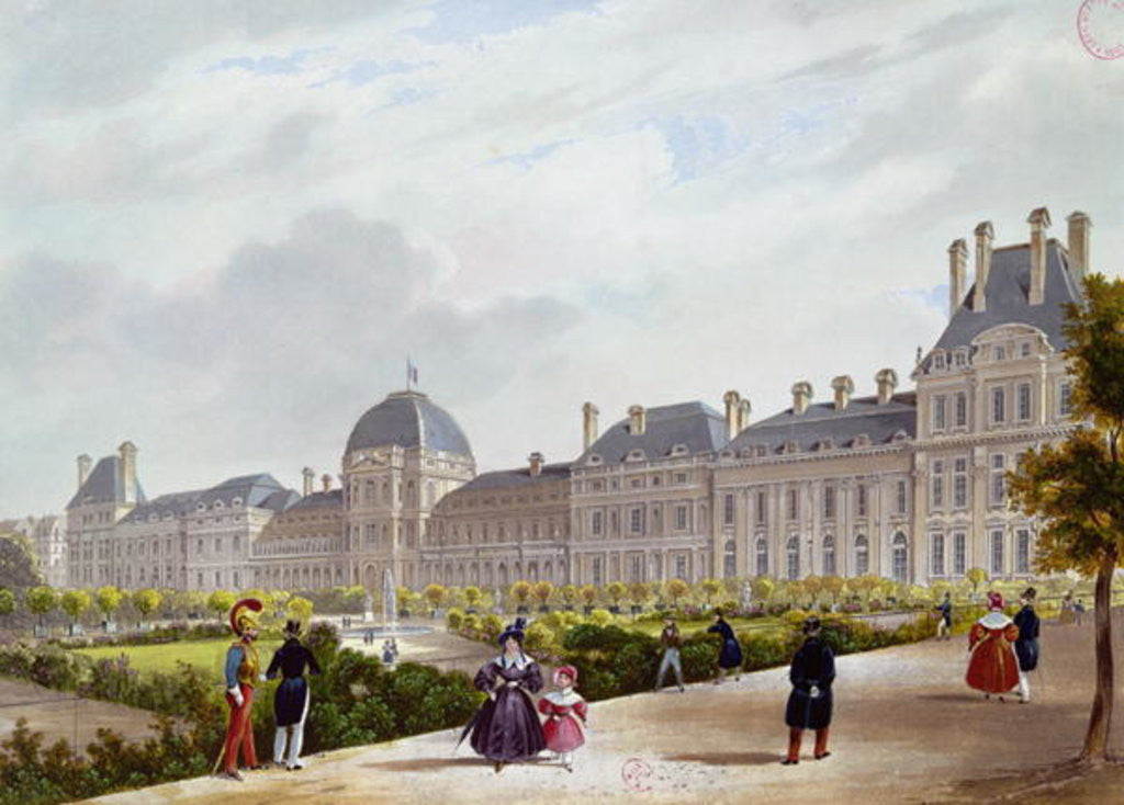 The Tuileries during the Restoration