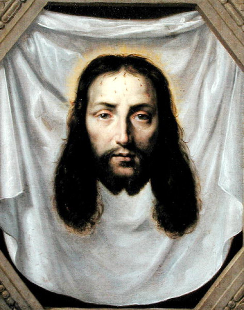 Detail of The Shroud of St. Veronica by Philippe de Champaigne
