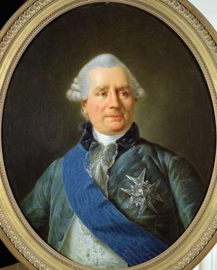 Detail of Charles Gravier Count of Vergennes by French School