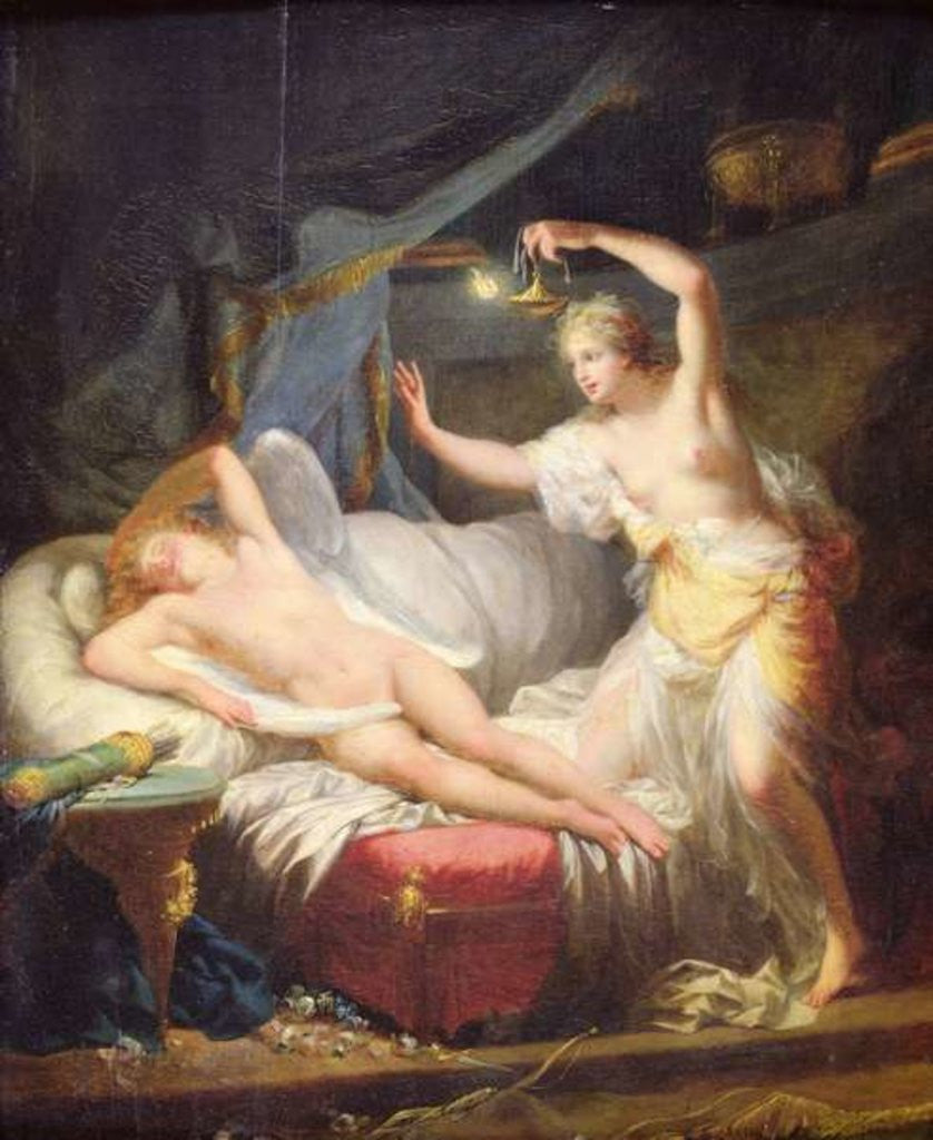 cupid and psyche posters prints by jean baptiste regnault