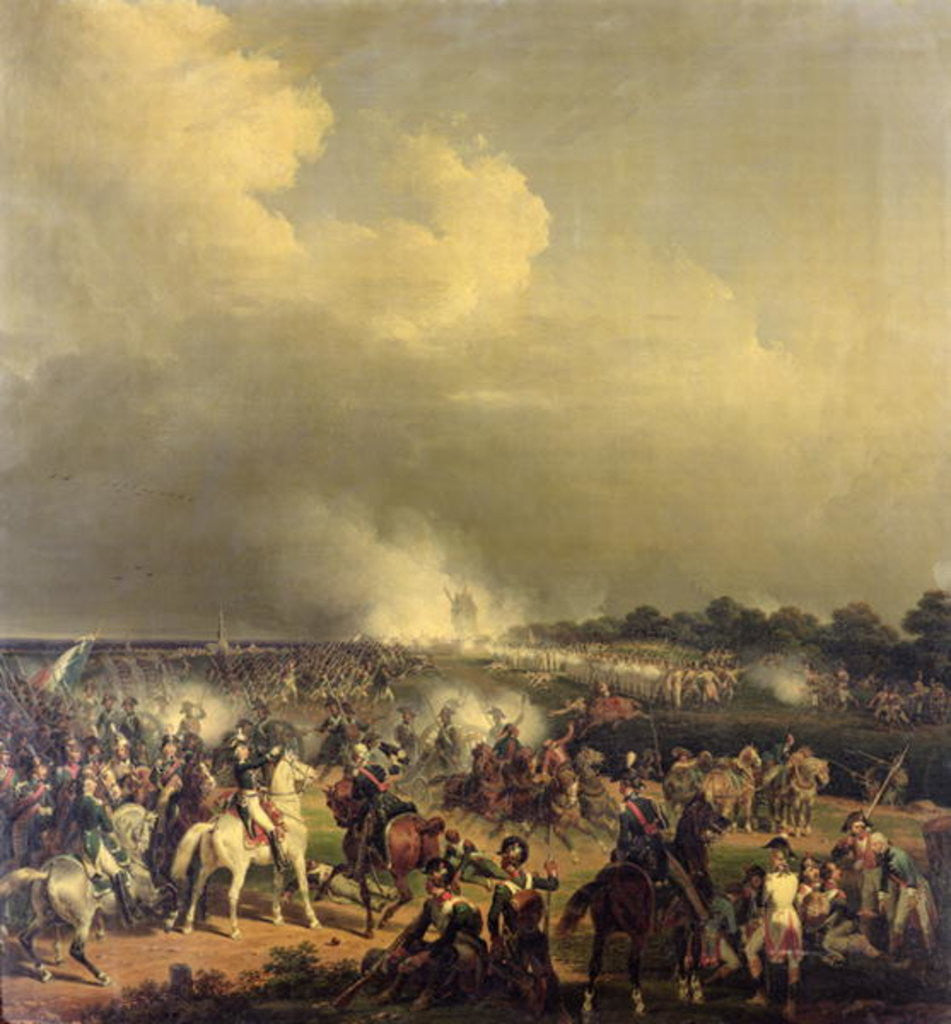 Detail of Battle of Boussu, 3rd November 1792 by Hippolyte Lecomte
