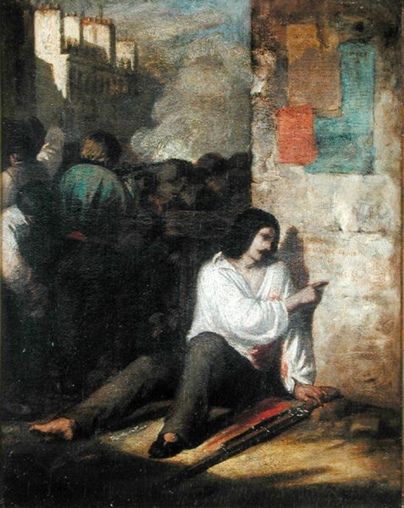 The Barricade in 1848 or, The Injured Insurgent