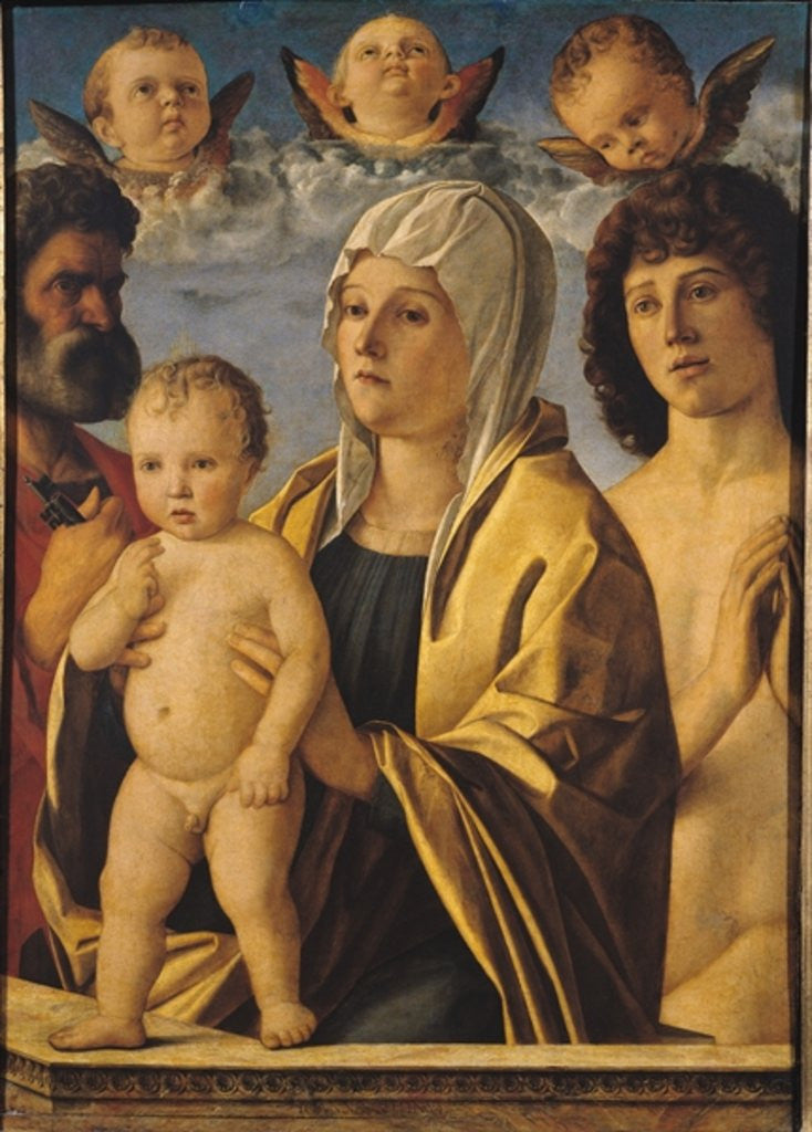 The Virgin and Child with St. Peter and St. Sebastian