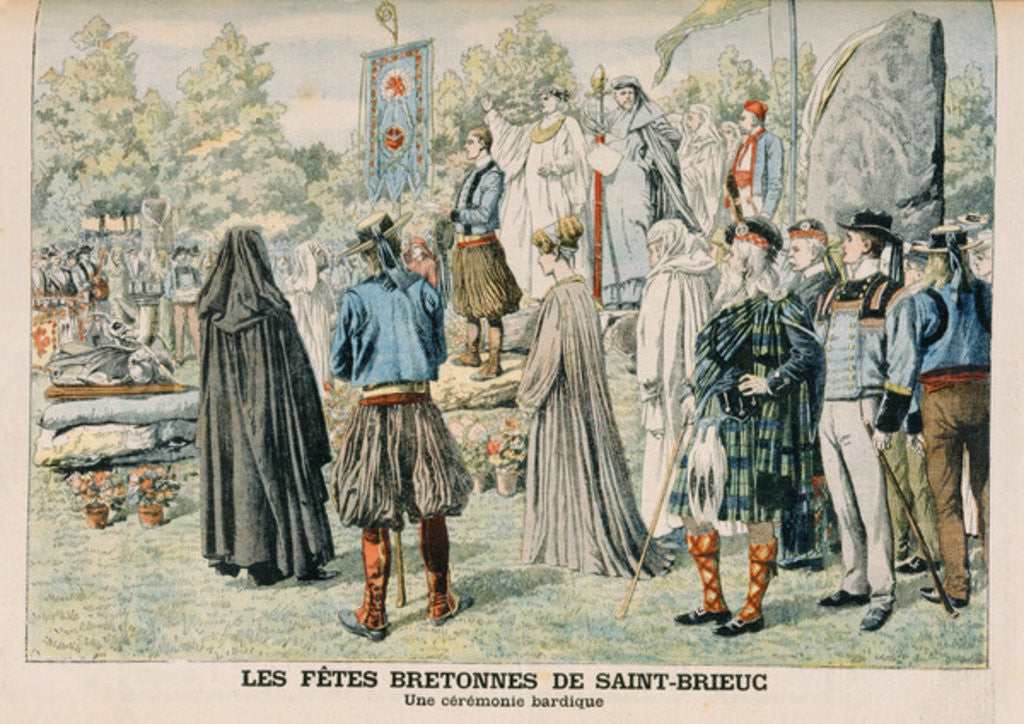 Detail of Bardic Ceremony at Saint-Brieuc, Brittany by French School