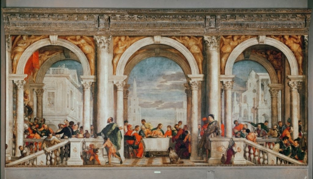 The Feast in the House of Levi posters & prints by Veronese