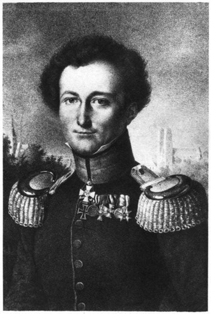 Detail of Karl von Clausewitz by German School