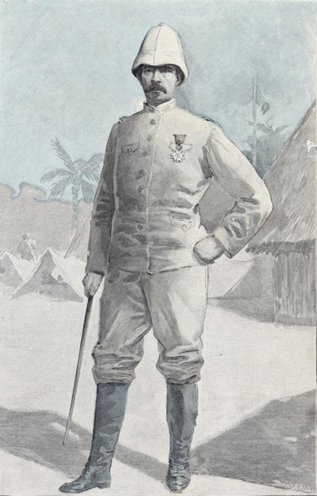 Detail of General Alfred Amedee Dodds by French School