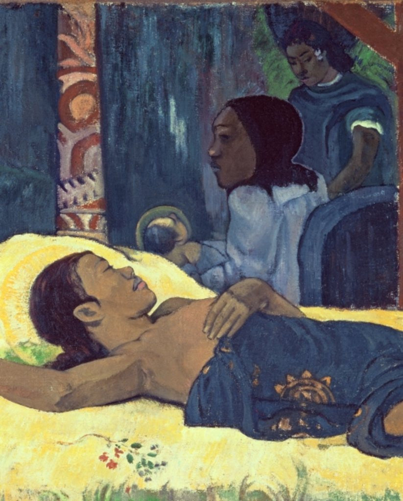 Detail of The Birth of Christ by Paul Gauguin