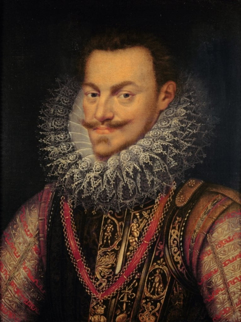 Detail of Philip William Prince of Orange by Frans I Pourbus