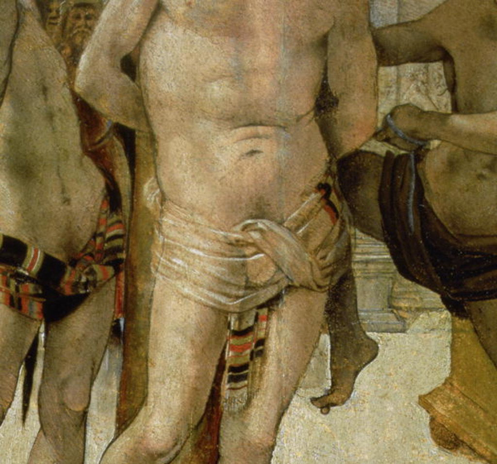 Detail of Flagellation of Christ by Luca Signorelli
