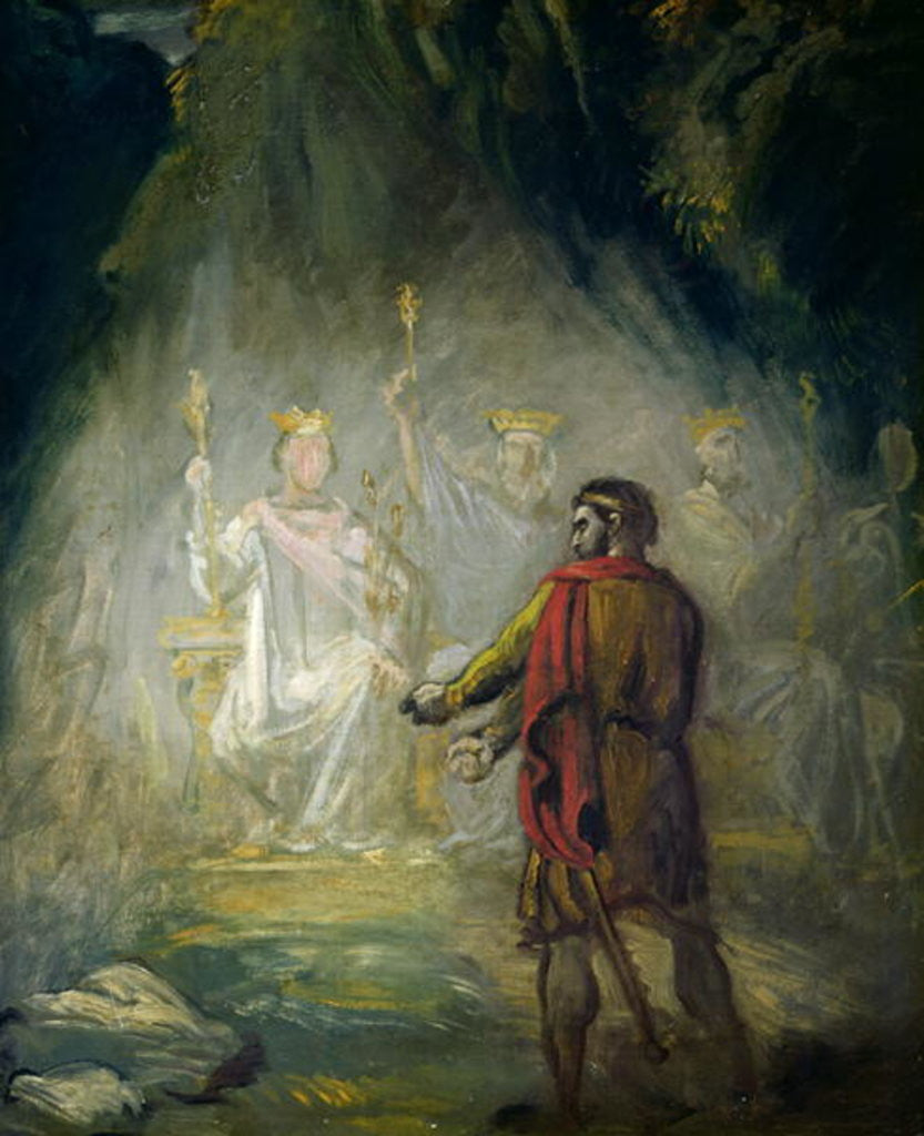 Macbeth by Theodore Chasseriau