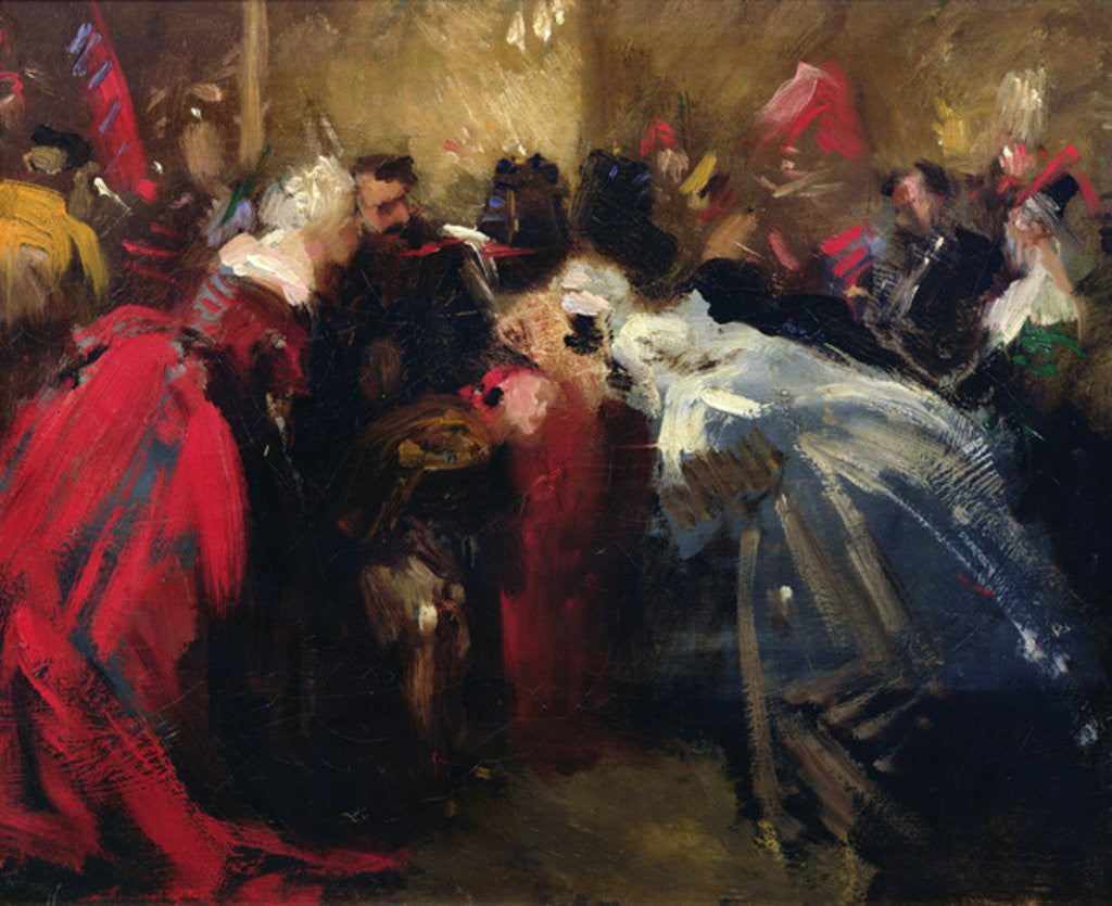 Masked ball at the Tuileries