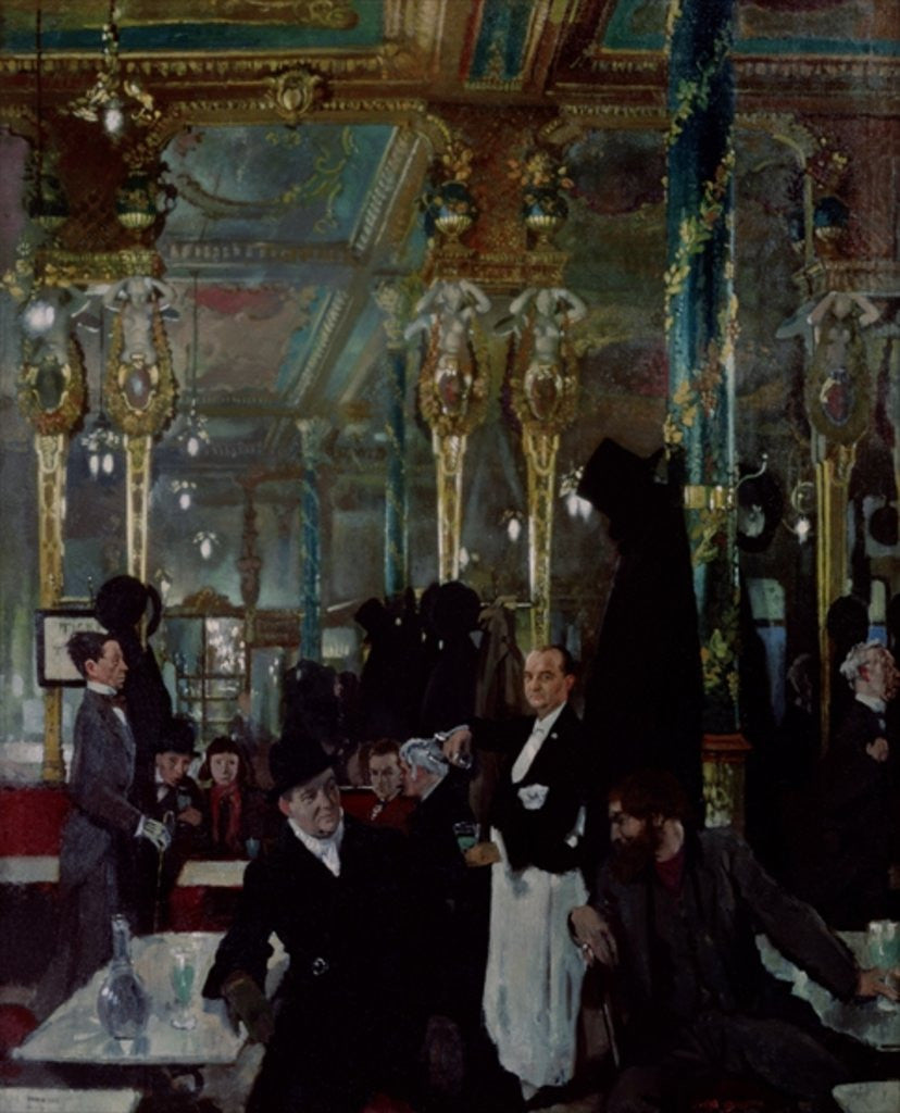 Detail of Cafe Royal, London by Sir William Orpen