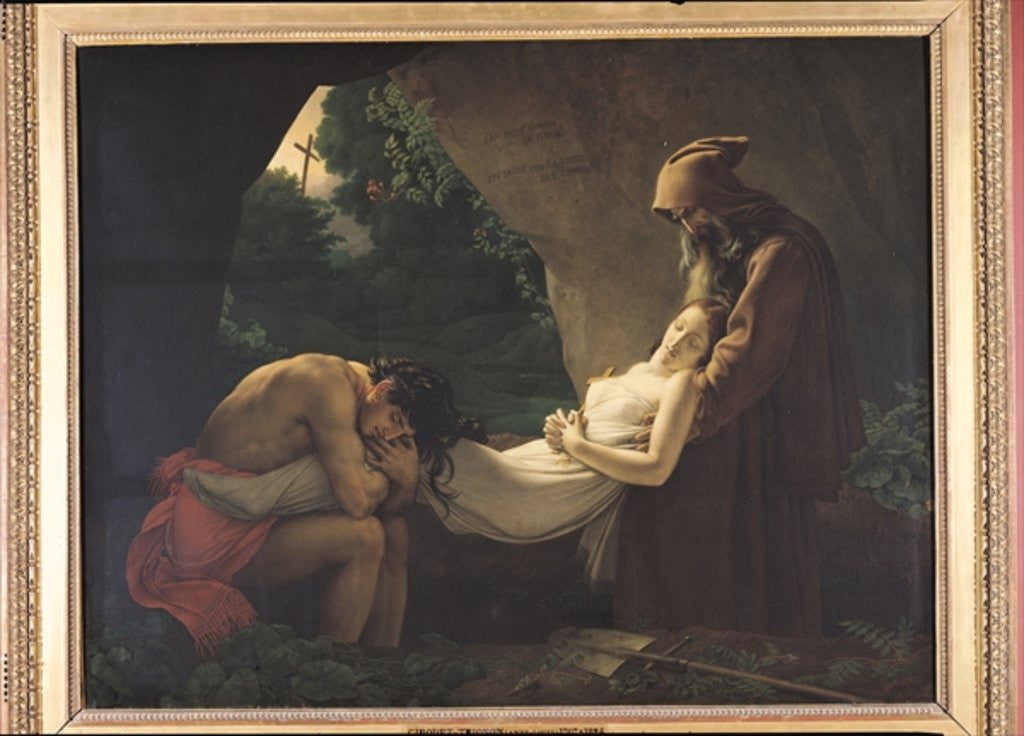 The Tomb of Atala by Anne Louis Girodet de Roucy-Trioson