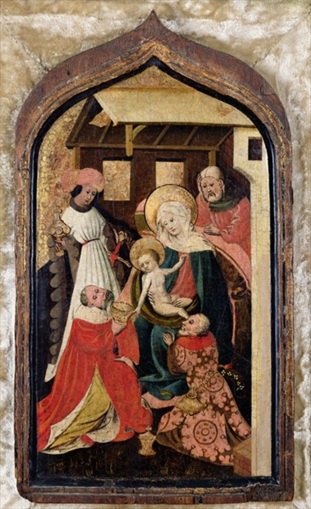 Detail of The Adoration of the Magi by French School