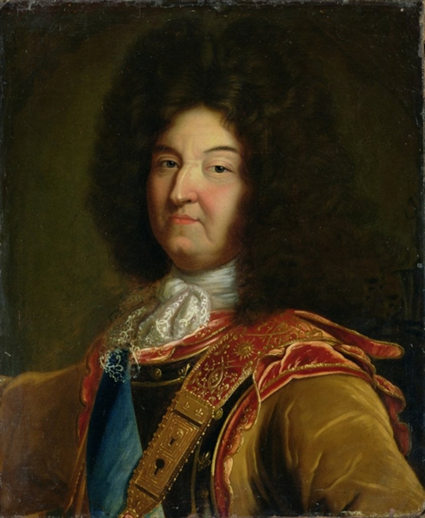 Detail of Louis XIV by French School