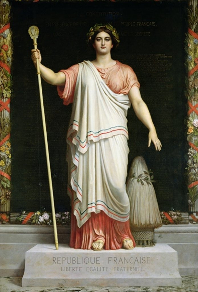 Detail of Allegory of the Republic by Dominique Louis Papety