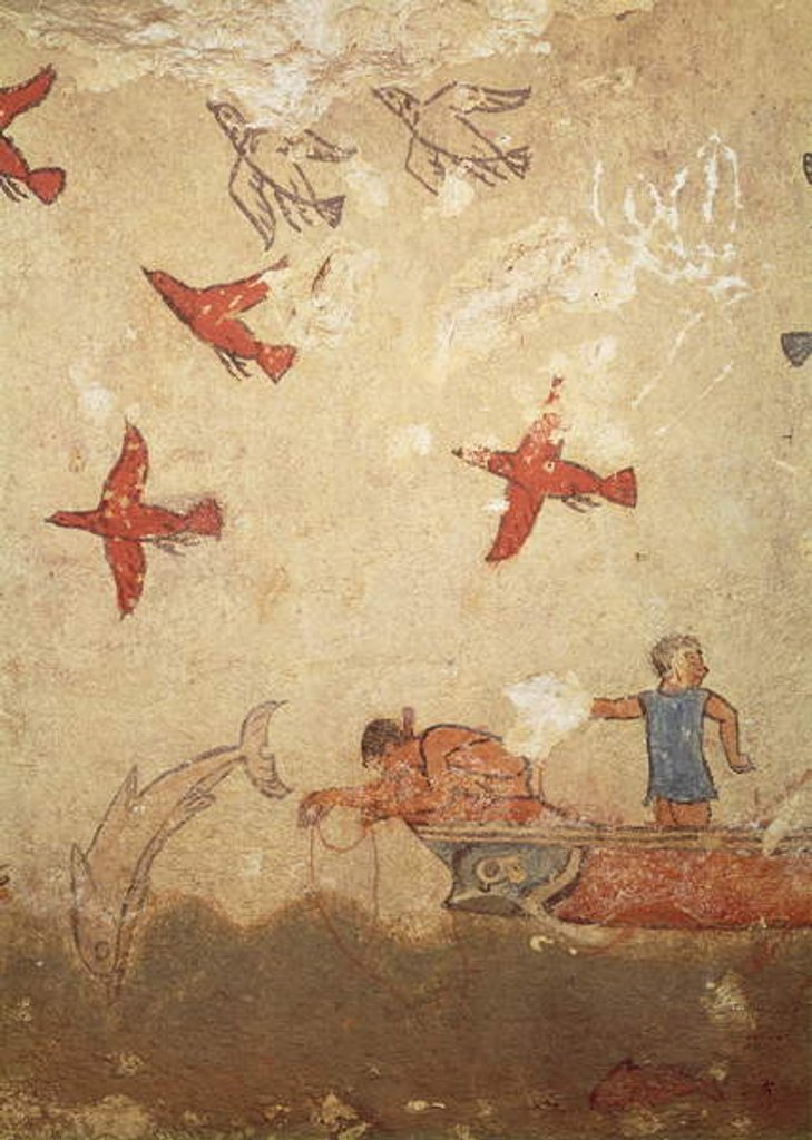 Detail of Fishing boat by Etruscan