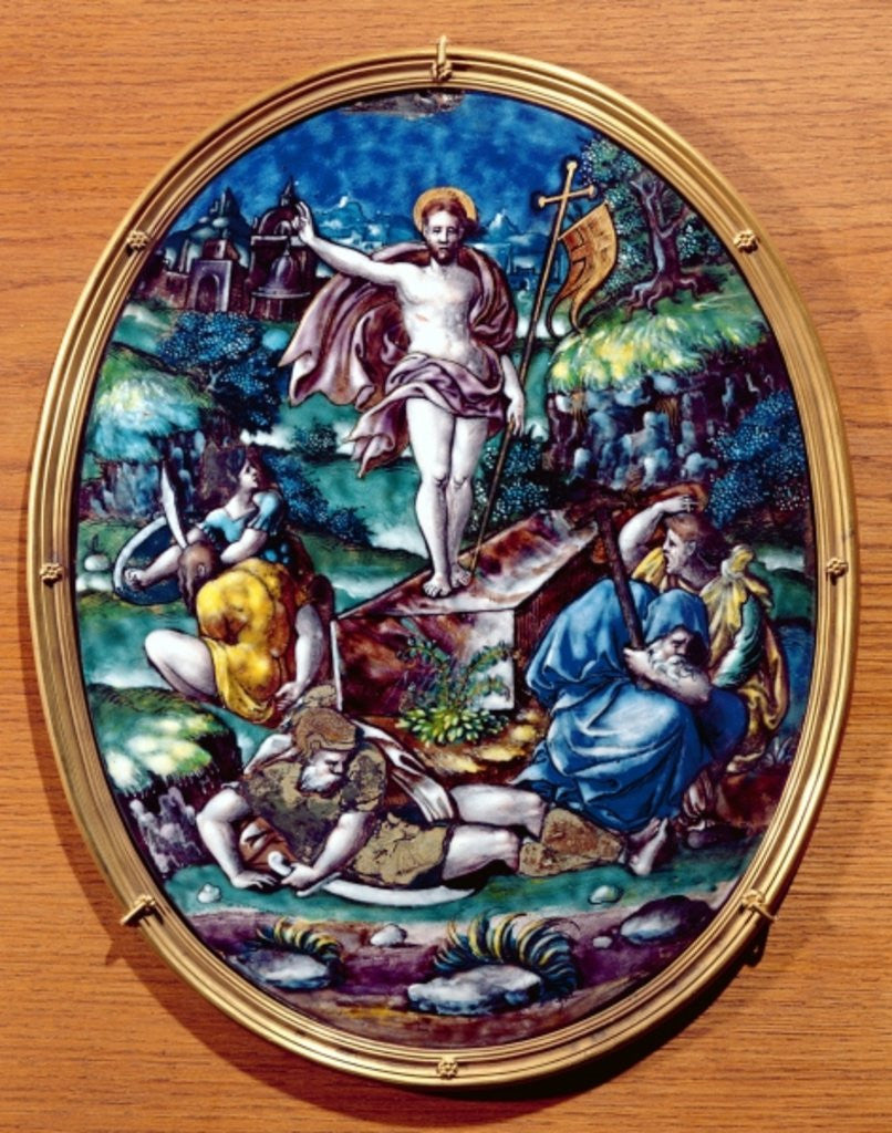 The Resurrection of Christ by Leonard Limosin