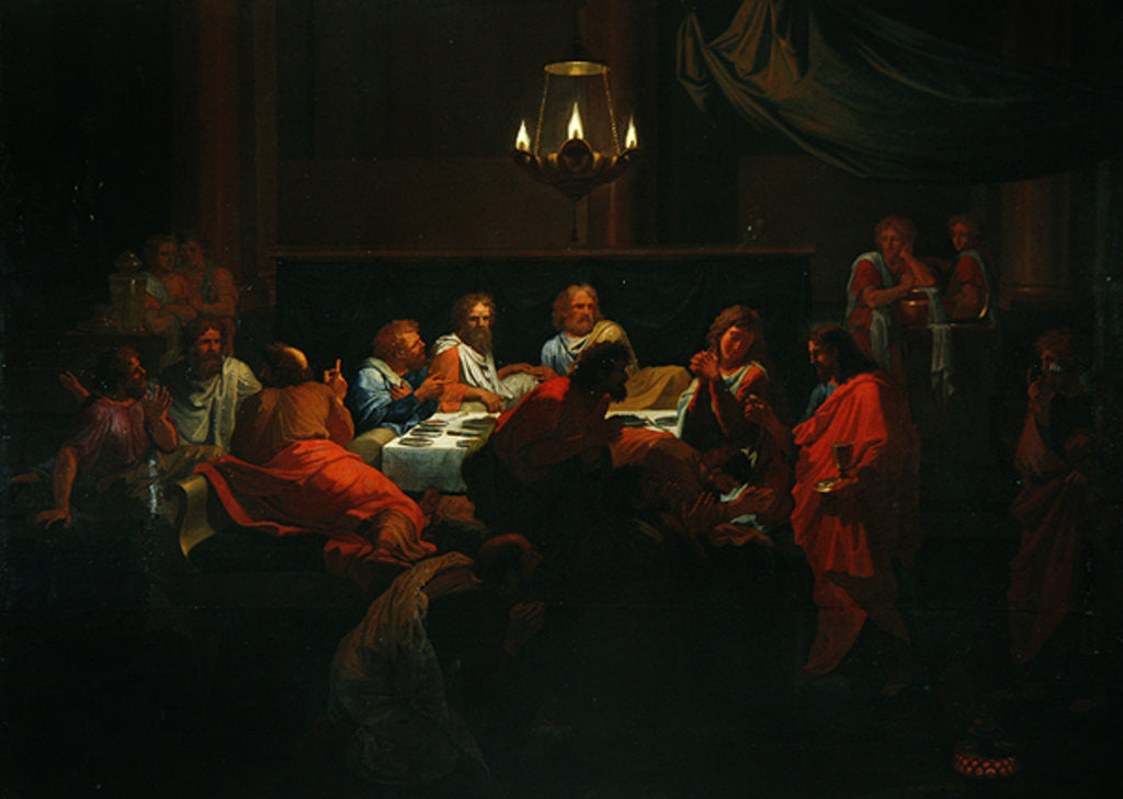 Detail of The Last Supper by Francois Verdier