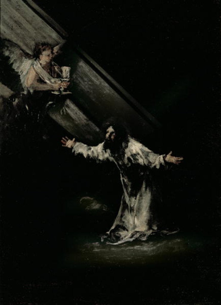 Detail of Christ on the Mount of Olives by Francisco Jose de Goya y Lucientes