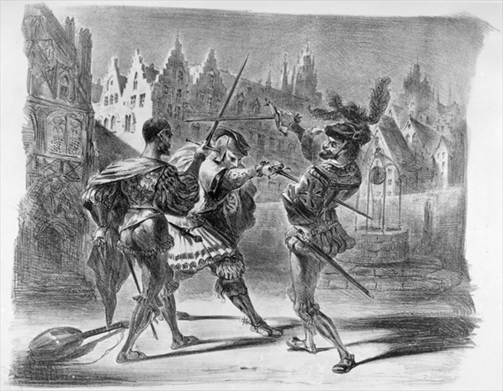 Duel between Faust and Valentine