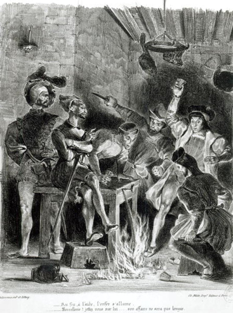 Mephistopheles and the Drinking Companions