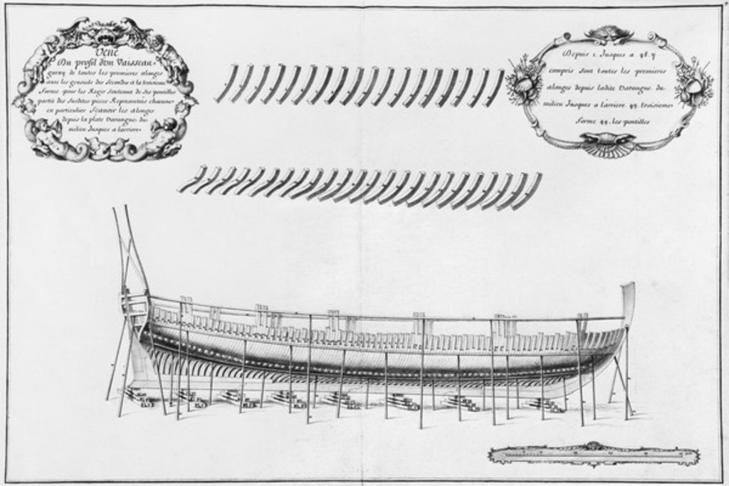 Detail of Profile of a vessel by plate 9