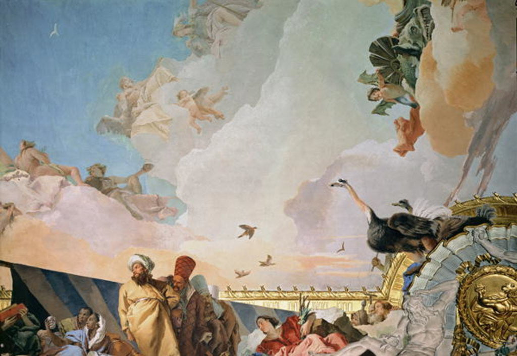 Detail of The Glory of Spain III by Giovanni Battista Tiepolo