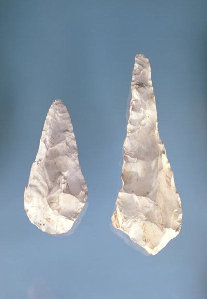 Detail of Two-sided blades, Lower Acheulean Period by Paleolithic