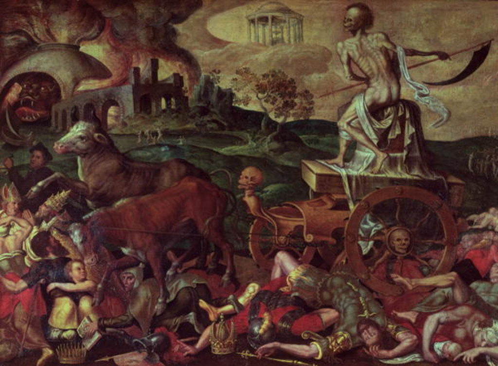 Detail of The Triumph of Death by Antoine Caron