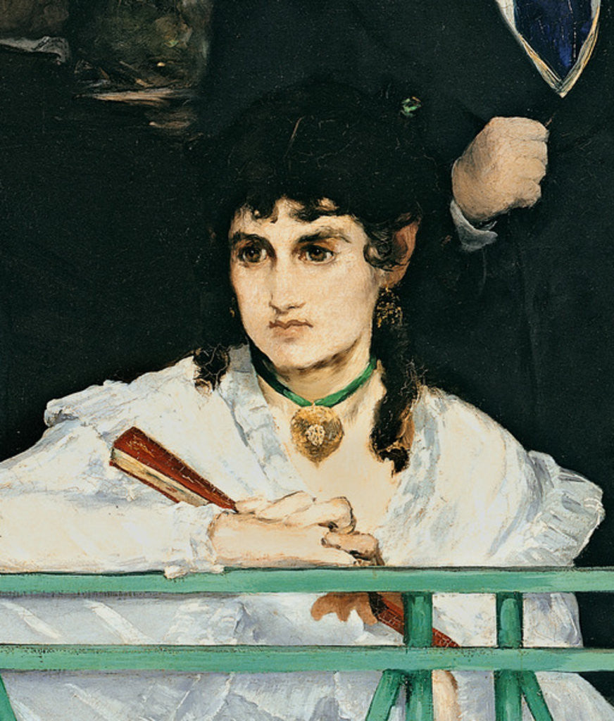 Detail of The Balcony, 1868-9 by Edouard Manet