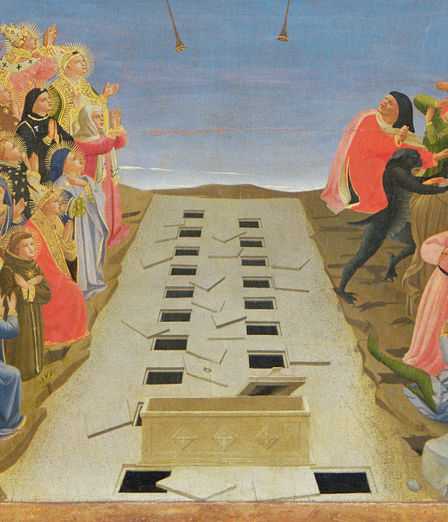 Detail of The Last Judgement by Fra Angelico