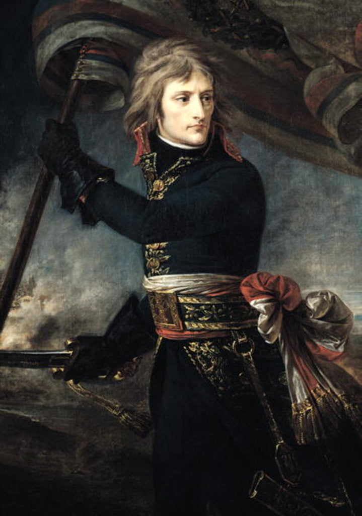 Detail of General Bonaparte on the Bridge at Arcole by Baron Antoine Jean Gros