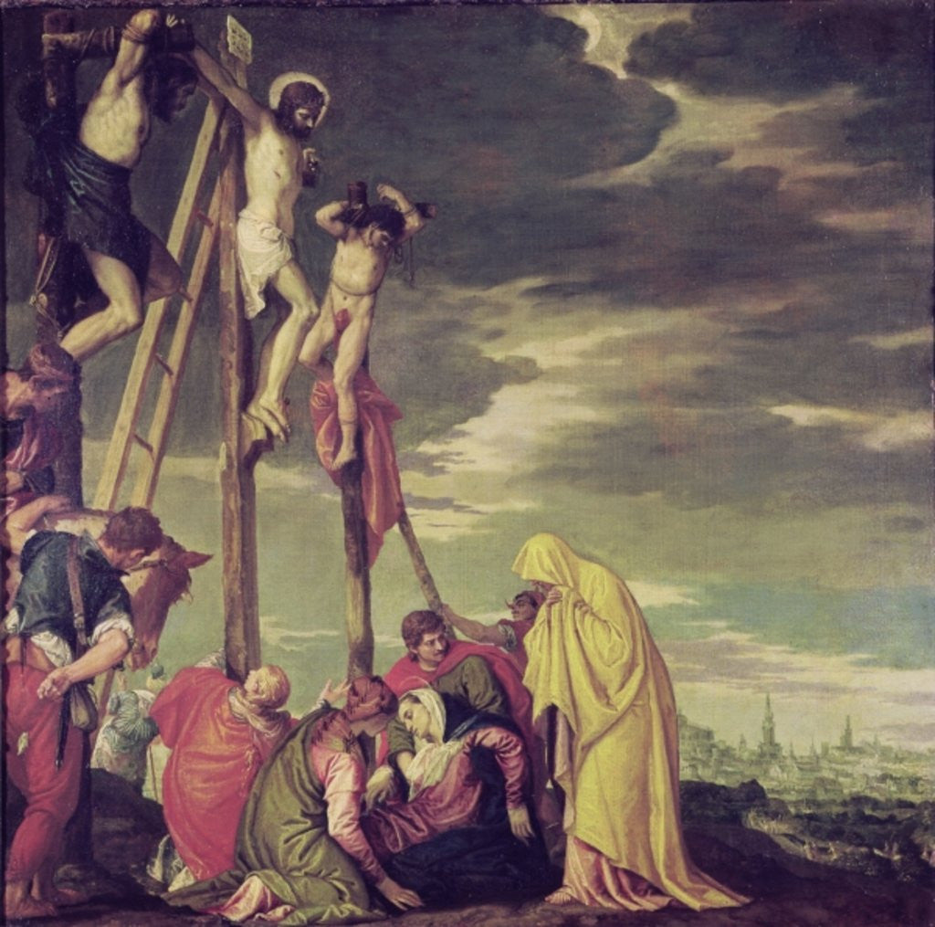 Detail of Calvary by Veronese