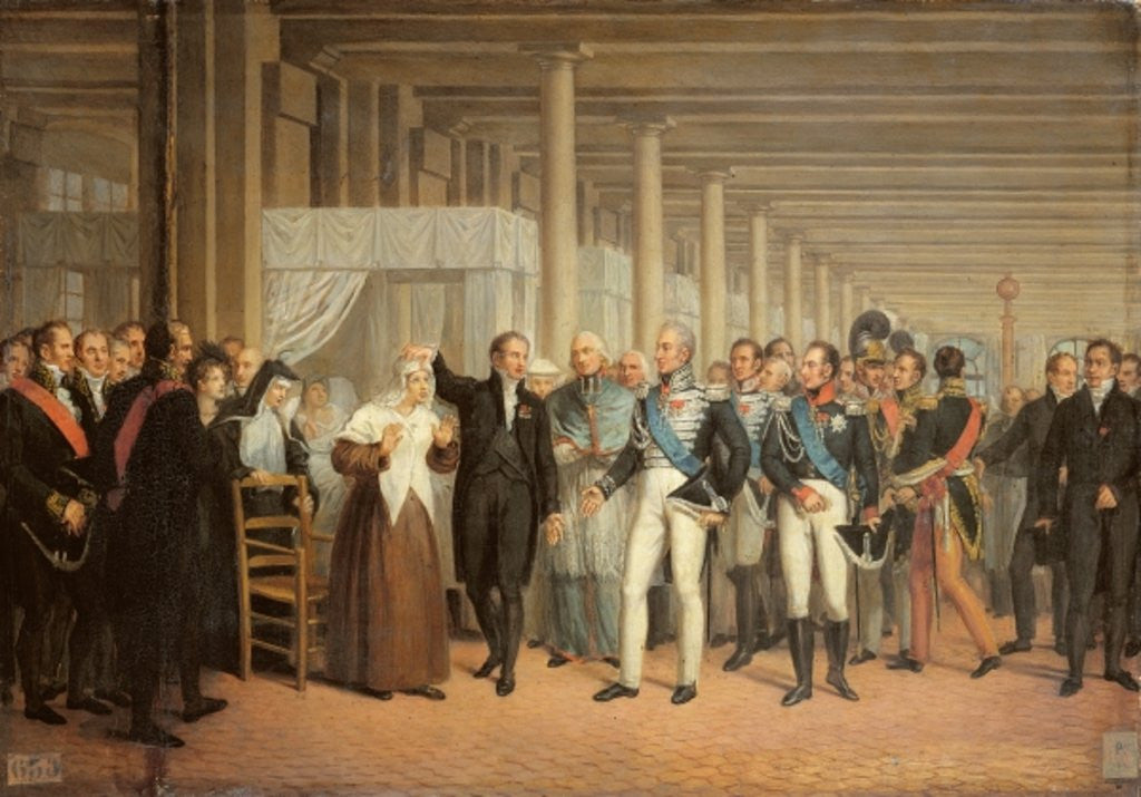 Detail of Cataract Operation Performed by Guillaume Dupuytren in the Presence of King Charles X at the Hotel Dieu by French School