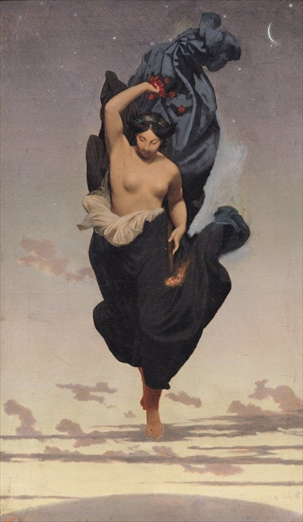 Detail of Night by Jean Leon Gerome