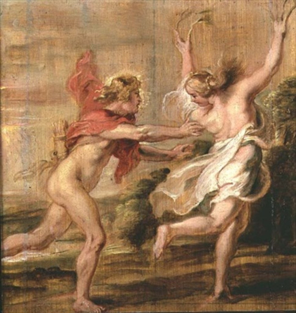 Detail of Apollo and Daphne by Peter Paul Rubens