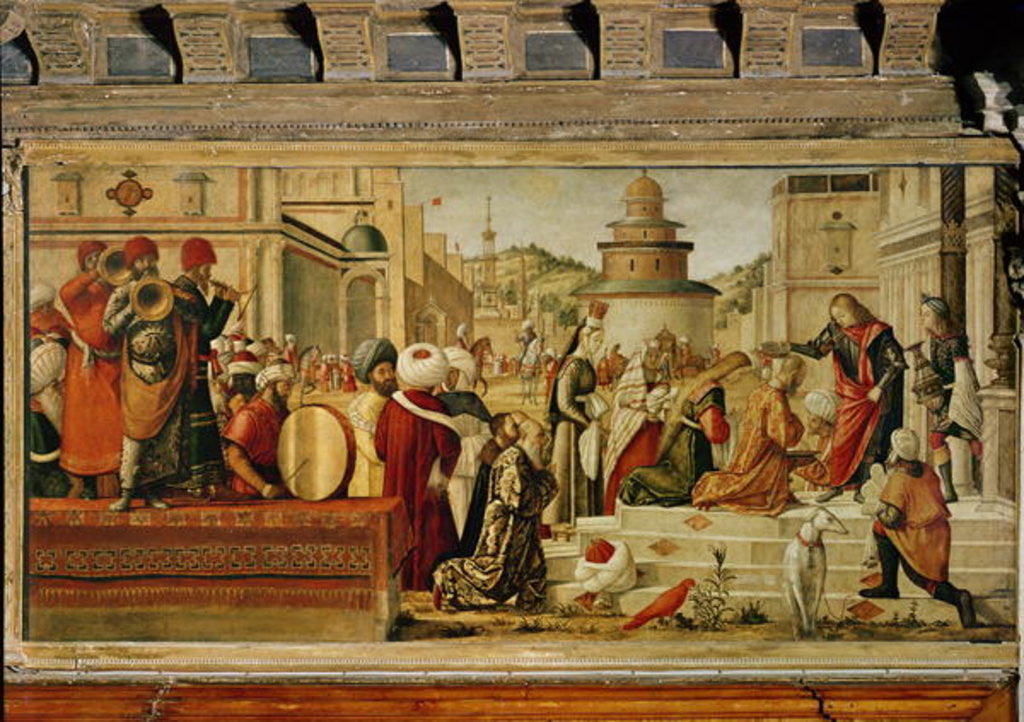St. George Baptising the Gentile